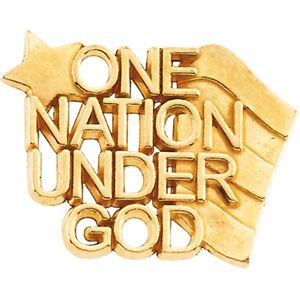 One Nation Under God Lapel Pin